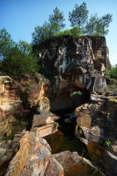 古采石遗迹图片