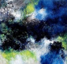 崔广平抽象油画图片