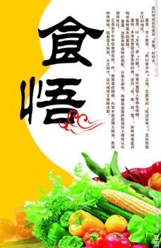 食品知识展板图片