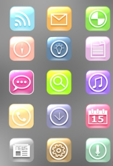 手机UI 图标图片