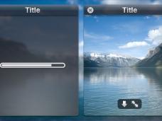 手机系统启动界面窗口设计PSD素材