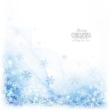 冬季雪花创意圣诞节矢量素材