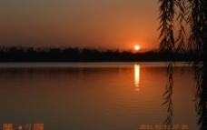 梦 夕阳图片