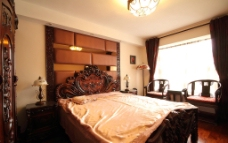 新中式风格卧室图片
