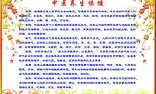 中医养生保健展板图片