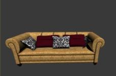 沙发模型图片