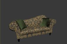 欧式沙发模型图片