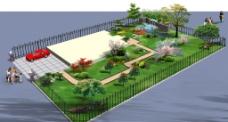 别墅绿化图片