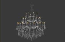 水晶灯模型图片