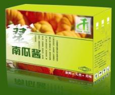 南瓜酱包装设计图片