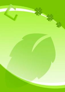 绿色线条展板图片