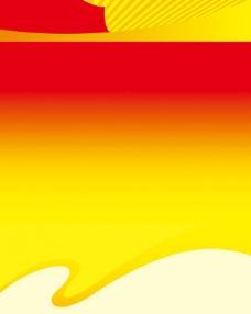 红色主题展板背景图片