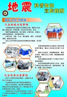 地震知识展板图片