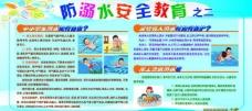 防溺水安全教育展板图片