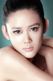 化妆品模特 广告级别图片