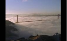 云雾大桥视频素材