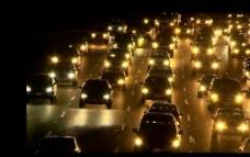 车辆夜景视频素材