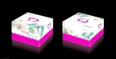 港式蛋糕盒平面图图片