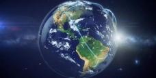 世界网络连线地球高清图片