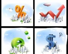 商务城市 商务背景图片