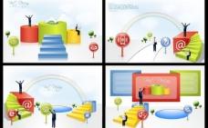 商务成就 商务背景图片