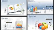商务图表 商务背景图片