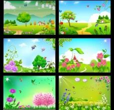 春天展板图片