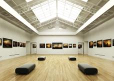 大厅室内模型图片