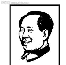 毛泽东头像图片