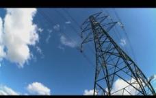电线连接塔视频