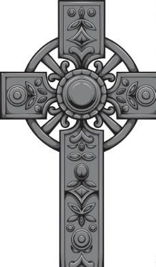 古代十字架图片