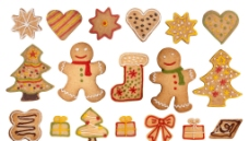圣诞节饼干图片