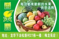 超市新鲜水果海报