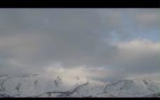 雪山背景视频素材