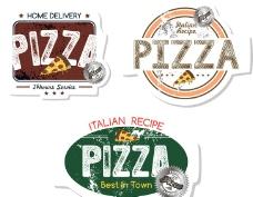 披萨广告设计图片