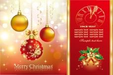 红色圣诞素材