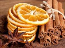 柠檬片 桂皮 八角图片