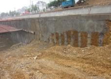 明挖基坑围护桩图片