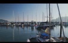 渔港背景视频素材