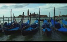 渔港小船视频素材
