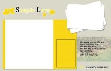 跨页儿童模板图片