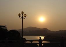 落日风景图片