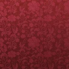 红色欧式花纹背景