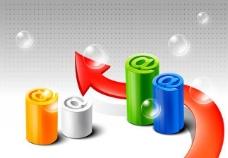 矢量插画 商业数据图片