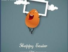 快乐的鸡蛋图片