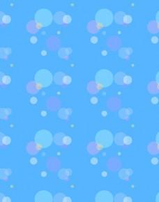 卡通背景 水泡气泡