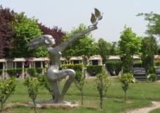 墓园雕塑图片