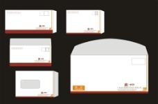 西式信封设计图片