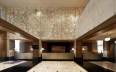 五星级酒店大堂设计图片
