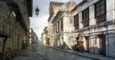街道室外模型图片